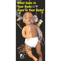 What Goes In Your Body Goes In Your Baby Booklet
