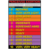 Perceived Exertion - Cardio