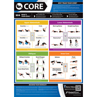 Gym and Fitness Chart - Core (L)