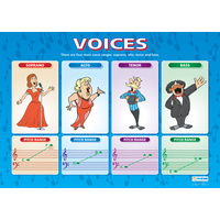 Music Schools Poster- Voices