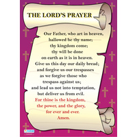 Religion School Poster-  The Lord's Prayer