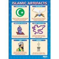 Religion School Poster-  Islamic Artefacts