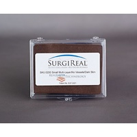 5-layer RealLayer Simulated Tissue Pad w/o Vessels (8.0 x 11.0 cm) - Dark Skin