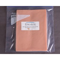 5-layer RealLayer Simulated Tissue Pad w/o Vessels (17.5 x 24.5 cm) - Light Skin