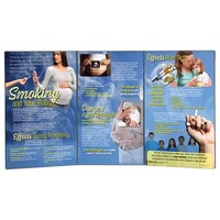 Smoking and Your Baby Folding Display