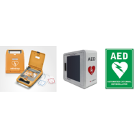 Mindray BeneHeart C1A AED Package with Cabinet & Sign