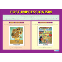 Art and Design School Poster- Post Impressionism