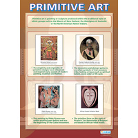 Art and Design Schools Poster - Primitive Art
