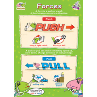 Early Learning School Poster- Forces