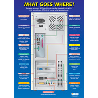 ICT Schools Posters - What Goes Where?