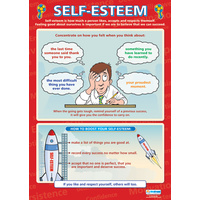 Motivation School Poster-  Self-esteem