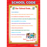 Motivation School Poster- School Code