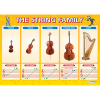 Music Schools Charts - The String Family