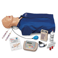 "AED Training and Life/form® Advanced ""Airway Larry"" Torso, ECG Simulation."