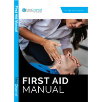 First Aid Manual (10+ only $6.60 each)