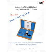 Harpenden Skinfold Caliper Body Assessment Software