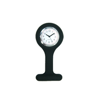 Liberty Nurses Fob Watch Silicone - Black