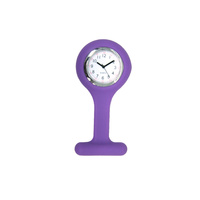 Liberty Nurses Fob Watch Silicone - Purple