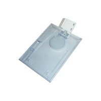 ID Tag Holder Clear
