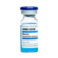 Demo Dose Fluorauracl (Adrucl) 10 mL 500 mg/10 mL