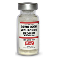Demo Dose Vecuronium Bromide - 10 ml