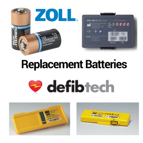 Zoll/Defibtech Defibrillator Replacement Batteries