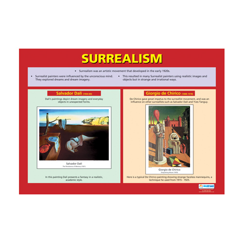 Art and Design School Poster- Surrealism