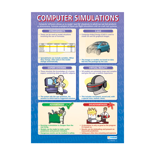 ICT School Poster- Computer Simulations