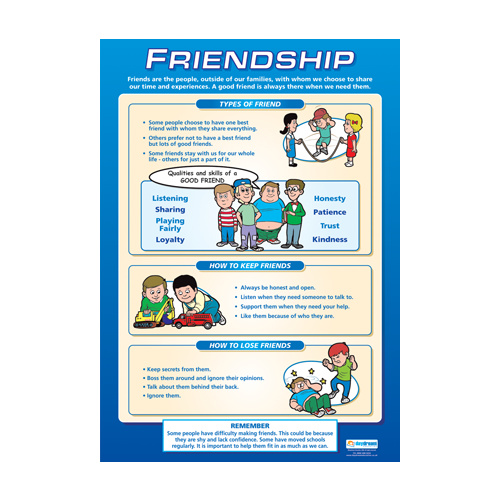 Personal, Social and Health School Chart - Friendship